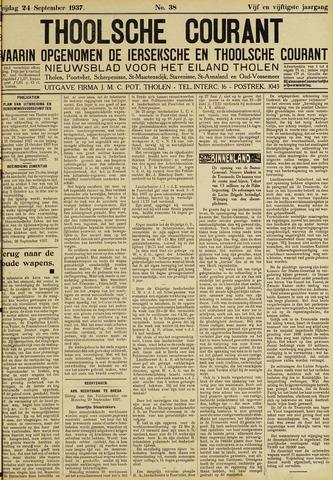 Ierseksche en Thoolsche Courant 1937-09-24