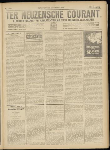 Ter Neuzensche Courant. Algemeen Nieuws- en Advertentieblad voor Zeeuwsch-Vlaanderen / Neuzensche Courant ... (idem) / (Algemeen) nieuws en advertentieblad voor Zeeuwsch-Vlaanderen 1930-10-27