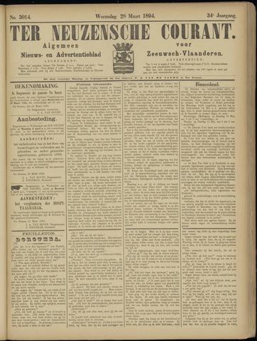 Ter Neuzensche Courant. Algemeen Nieuws- en Advertentieblad voor Zeeuwsch-Vlaanderen / Neuzensche Courant ... (idem) / (Algemeen) nieuws en advertentieblad voor Zeeuwsch-Vlaanderen 1894-03-28