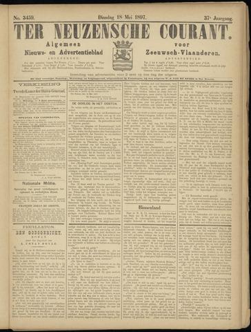 Ter Neuzensche Courant. Algemeen Nieuws- en Advertentieblad voor Zeeuwsch-Vlaanderen / Neuzensche Courant ... (idem) / (Algemeen) nieuws en advertentieblad voor Zeeuwsch-Vlaanderen 1897-05-18