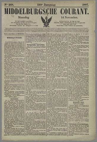 Middelburgsche Courant 1887-11-14