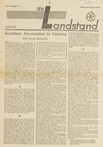 De landstand in Zeeland, geïllustreerd weekblad. 1943-02-26