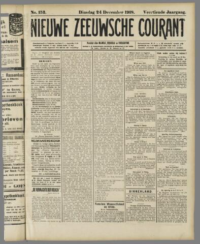 Nieuwe Zeeuwsche Courant 1918-12-24