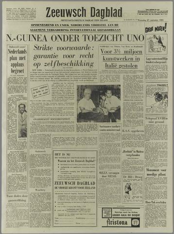 Zeeuwsch Dagblad 1961-09-27