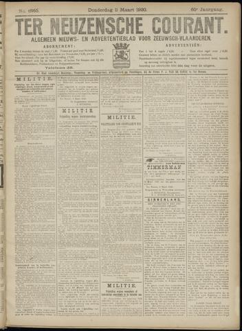 Ter Neuzensche Courant. Algemeen Nieuws- en Advertentieblad voor Zeeuwsch-Vlaanderen / Neuzensche Courant ... (idem) / (Algemeen) nieuws en advertentieblad voor Zeeuwsch-Vlaanderen 1920-03-11