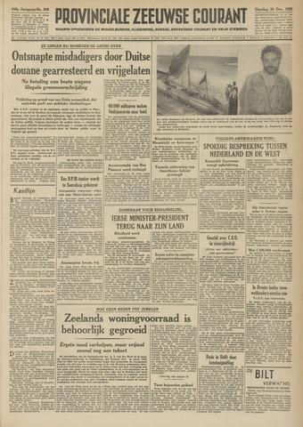 Provinciale Zeeuwse Courant 1952-12-30