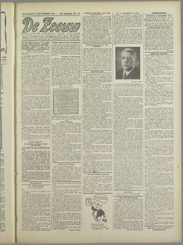 De Zeeuw. Christelijk-historisch nieuwsblad voor Zeeland 1943-11-08