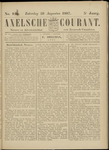 Axelsche Courant 1887-08-20
