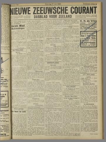 Nieuwe Zeeuwsche Courant 1920-07-17