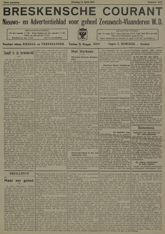 Breskensche Courant 1937-04-13