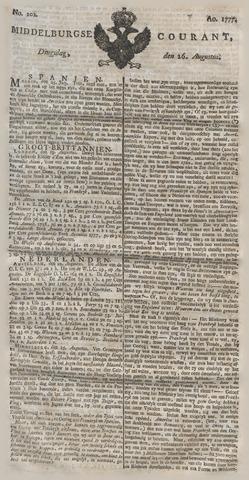Middelburgsche Courant 1777-08-26