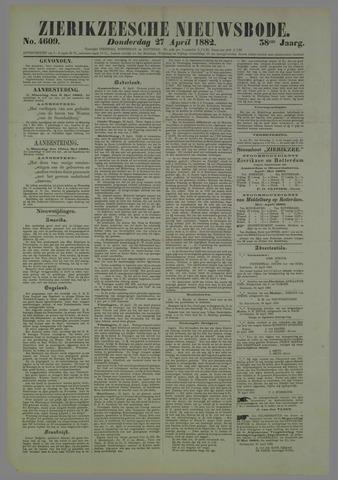 Zierikzeesche Nieuwsbode 1882-04-27