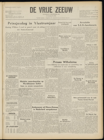 de Vrije Zeeuw 1953-09-12