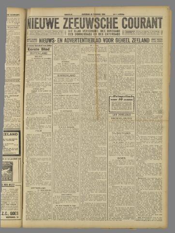 Nieuwe Zeeuwsche Courant 1925-02-21