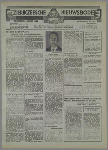 Zierikzeesche Nieuwsbode 1942-03-05