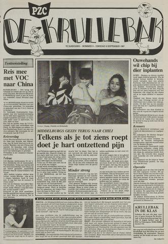 Provinciale Zeeuwse Courant katern Krullenbak (1981-1999) 1987-09-08