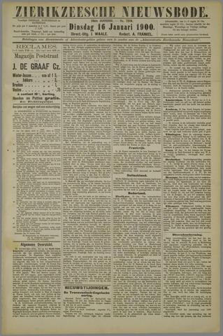 Zierikzeesche Nieuwsbode 1900-01-16