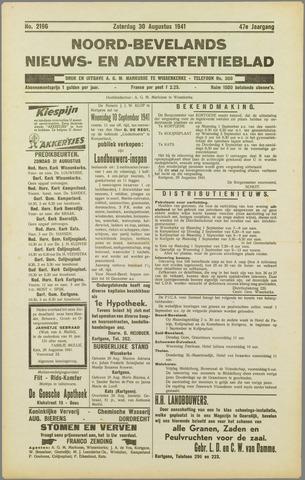 Noord-Bevelands Nieuws- en advertentieblad 1941-08-30