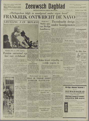 Zeeuwsch Dagblad 1959-03-14