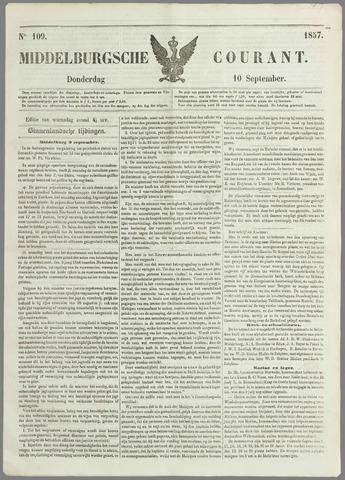 Middelburgsche Courant 1857-09-10