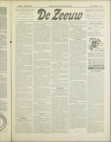 De Zeeuw. Christelijk-historisch nieuwsblad voor Zeeland 1934-12-04