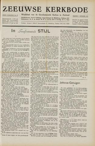 Zeeuwsche kerkbode, weekblad gewijd aan de belangen der gereformeerde kerken/ Zeeuwsch kerkblad 1951