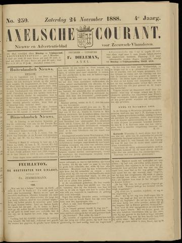 Axelsche Courant 1888-11-24