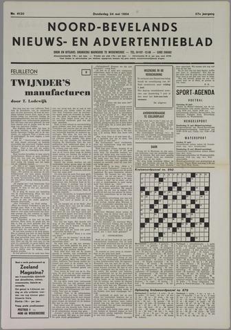 Noord-Bevelands Nieuws- en advertentieblad 1984-05-24
