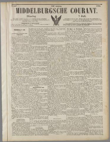 Middelburgsche Courant 1903-07-07