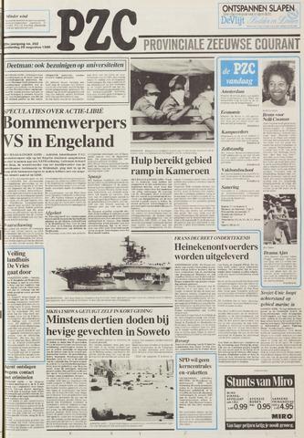Provinciale Zeeuwse Courant 1986-08-28