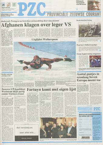 Provinciale Zeeuwse Courant 2002-02-12