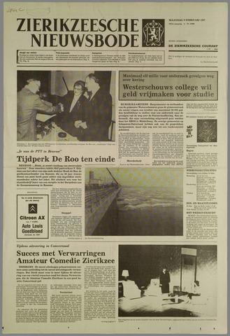Zierikzeesche Nieuwsbode 1987-02-09