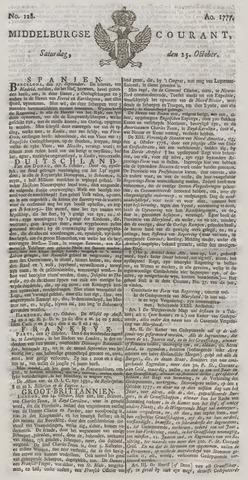 Middelburgsche Courant 1777-10-25