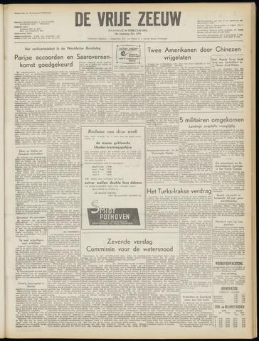 de Vrije Zeeuw 1955-02-28