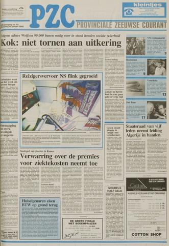 Provinciale Zeeuwse Courant 1992-01-15
