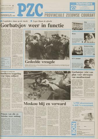 Provinciale Zeeuwse Courant 1991-08-22