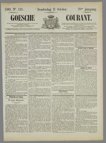 Goessche Courant 1883-10-11