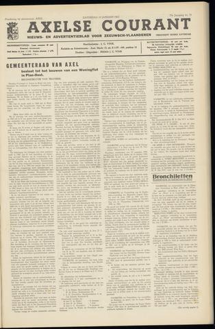 Axelsche Courant 1963-01-19