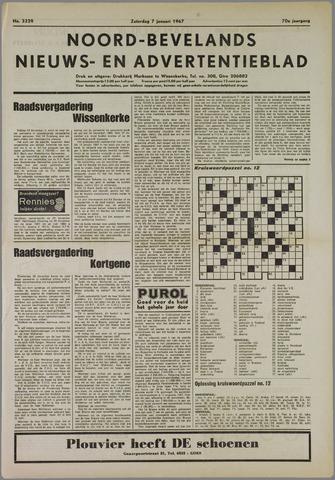 Noord-Bevelands Nieuws- en advertentieblad 1967