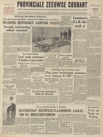Provinciale Zeeuwse Courant 1963-01-23