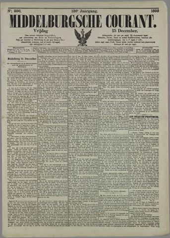 Middelburgsche Courant 1893-12-15