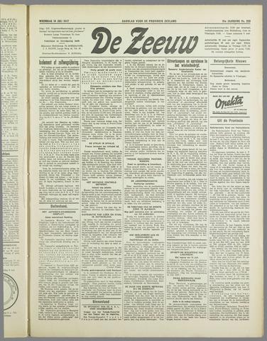 De Zeeuw. Christelijk-historisch nieuwsblad voor Zeeland 1937-07-14