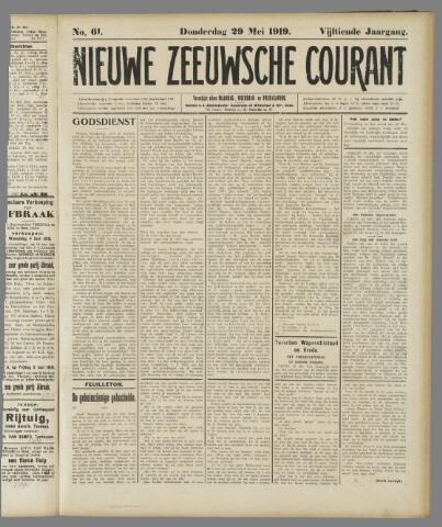 Nieuwe Zeeuwsche Courant 1919-05-29
