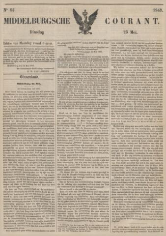 Middelburgsche Courant 1869-05-25