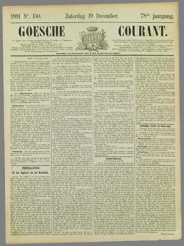 Goessche Courant 1891-12-19