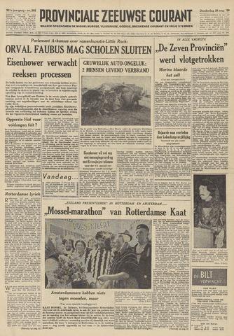 Provinciale Zeeuwse Courant 1958-08-28
