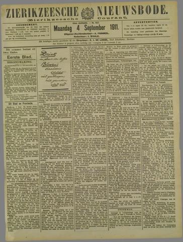 Zierikzeesche Nieuwsbode 1911-09-04