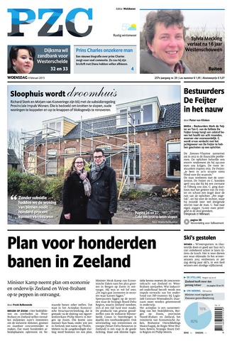 Provinciale Zeeuwse Courant 2015-02-04