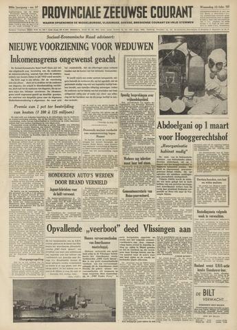 Provinciale Zeeuwse Courant 1957-02-13