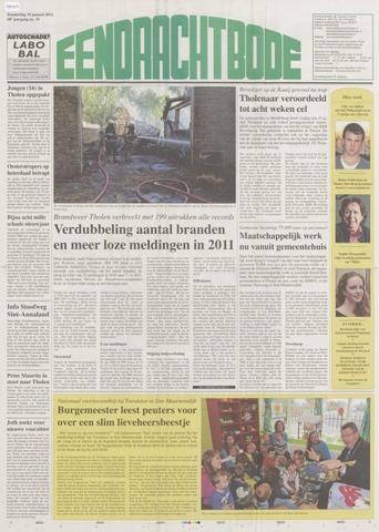 Eendrachtbode (1945-heden)/Mededeelingenblad voor het eiland Tholen (1944/45) 2012-01-19